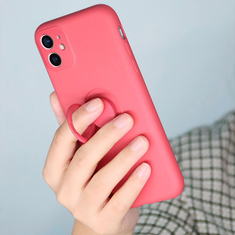 Heart Shape Plush Silicone Cover Case For iPhone XS XR Max IPXSM09_10