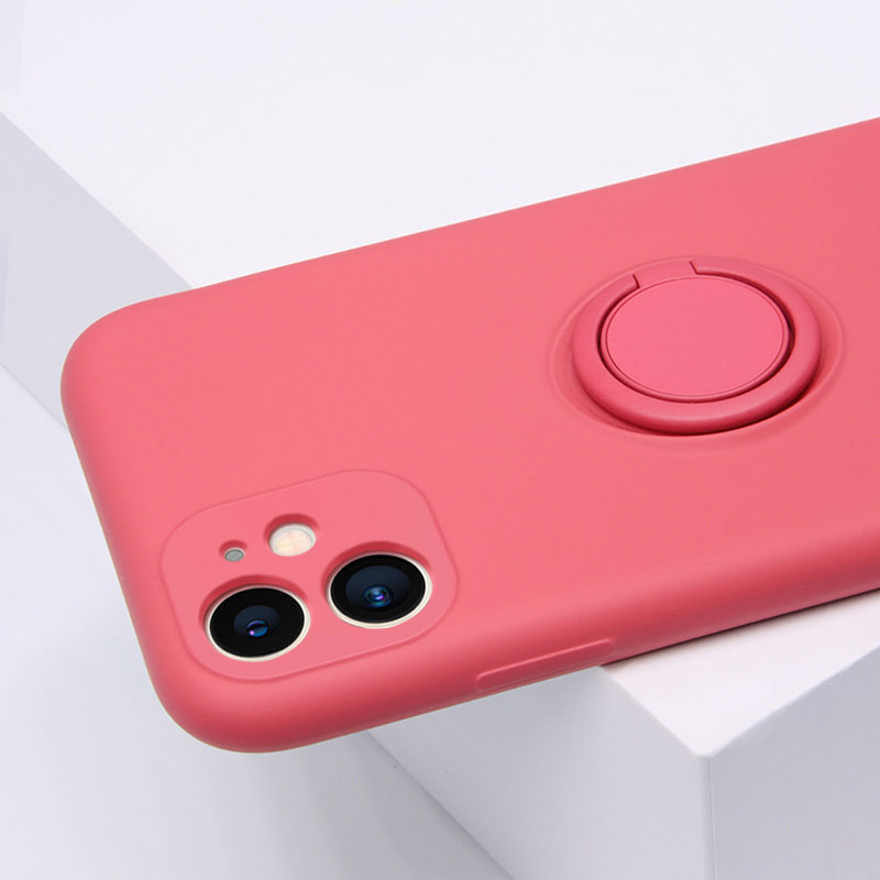 Heart Shape Plush Silicone Cover Case For iPhone XS XR Max IPXSM09_9