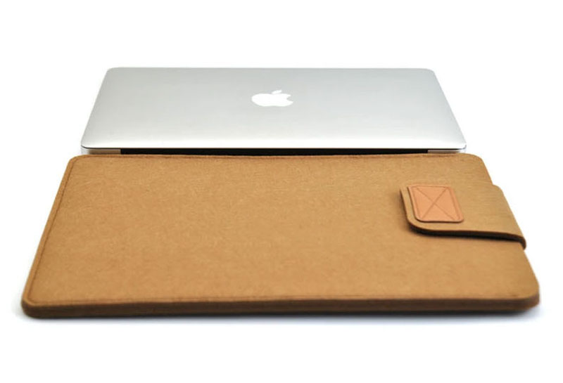 2019 Best Light Gray 12 Inch Leather Macbook Sleeve Bags MB1201_14