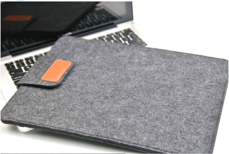 2019 Best Light Gray 12 Inch Leather Macbook Sleeve Bags MB1201_18