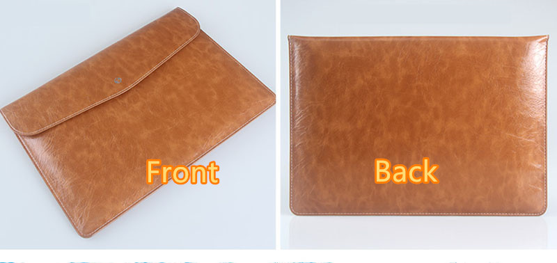 Cool Red Leather Bag Case For 12 Inch Macbook Pro Air 11 13 MB1202_7