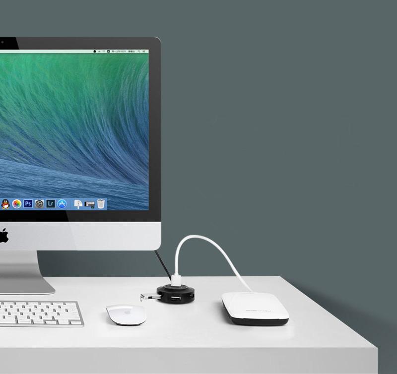 USB 2.0 Type C Splitter 4 USB 2.0 Ports Hub MBC02_10