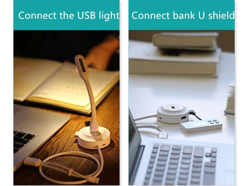 USB 2.0 Type C Splitter 4 USB 2.0 Ports Hub MBC02_12