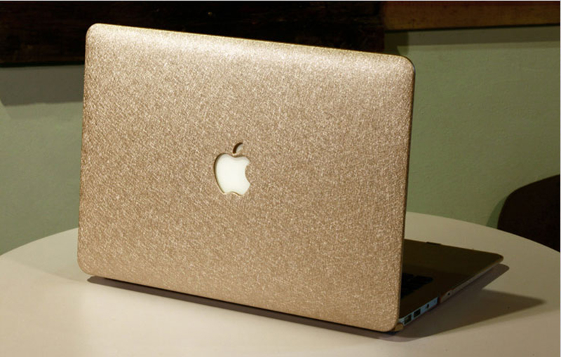Silk Pattern Macbook Air Pro 11 12 13 15 Inch Protective Case Covers With Free Keyboard Skin_12
