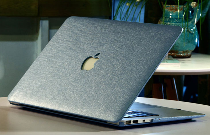 Silk Pattern Macbook Air Pro 11 12 13 15 Inch Protective Case Covers With Free Keyboard Skin_24