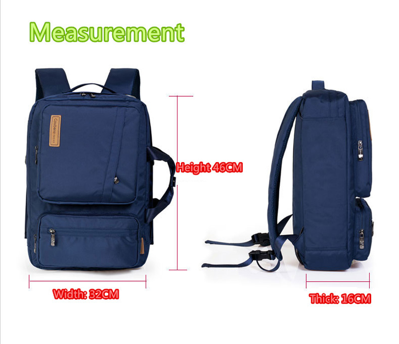 Multifunctional Backpack Puting Macbook iPad tech accessories For Students Travelers Business MFB01_11