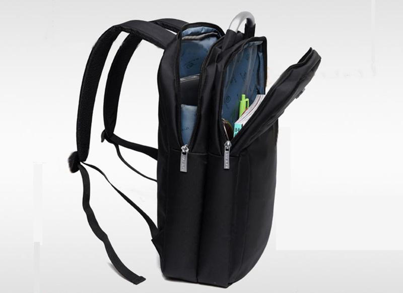 Minimalism Business Laptop Computer Square Backpack Leisure Bag MFB03_10