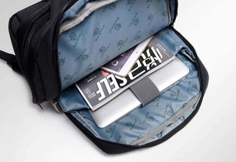 Minimalism Business Laptop Computer Square Backpack Leisure Bag MFB03_11