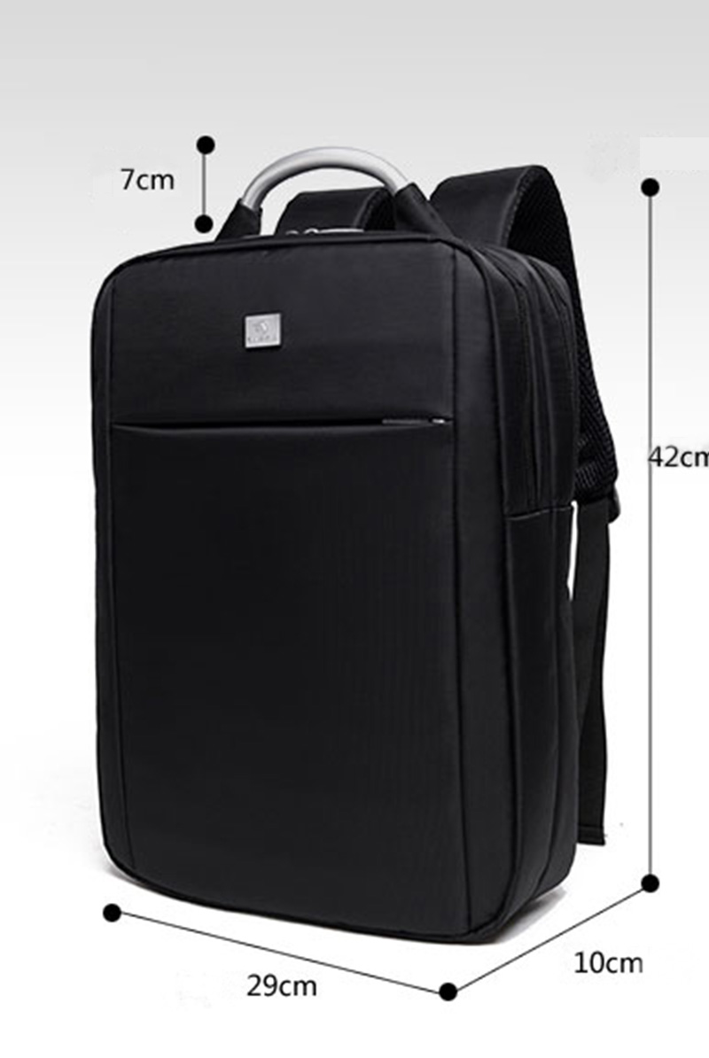 Minimalism Business Laptop Computer Square Backpack Leisure Bag MFB03_13