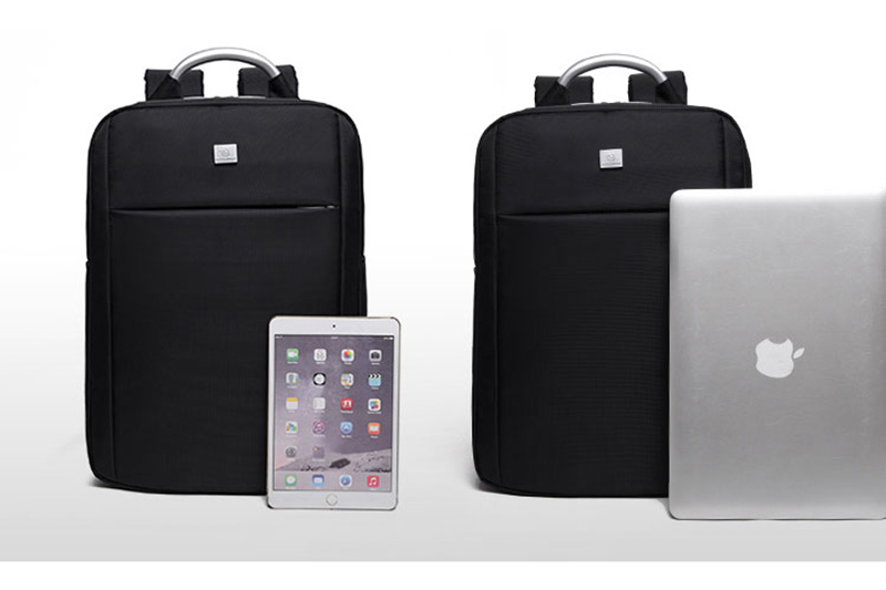 Minimalism Business Laptop Computer Square Backpack Leisure Bag MFB03_14