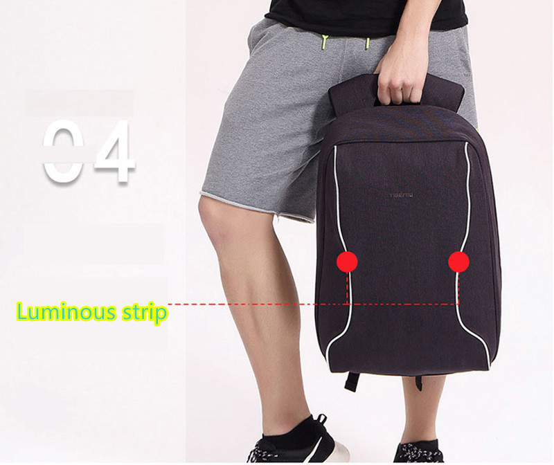 Anti Thief Business Leisure Shoulder Backpack Travel Bag MFB04_13