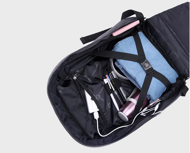 Anti Thief Business Leisure Shoulder Backpack Travel Bag MFB04_15