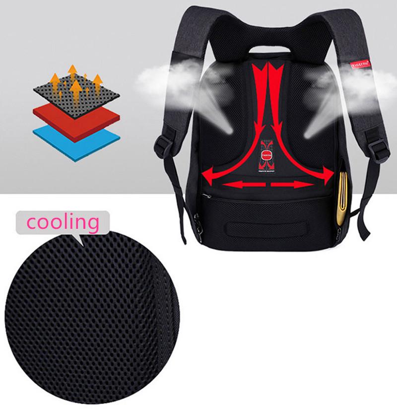 Anti Thief Business Leisure Shoulder Backpack Travel Bag MFB04_19