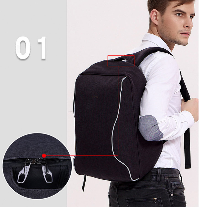 Anti Thief Business Leisure Shoulder Backpack Travel Bag MFB04_9