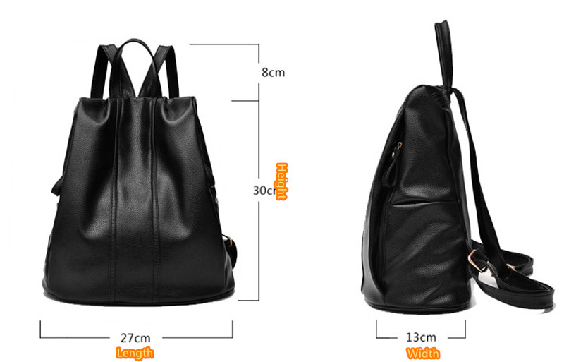 Multi-functional Anti Thief Backpack For Women MFB05_14