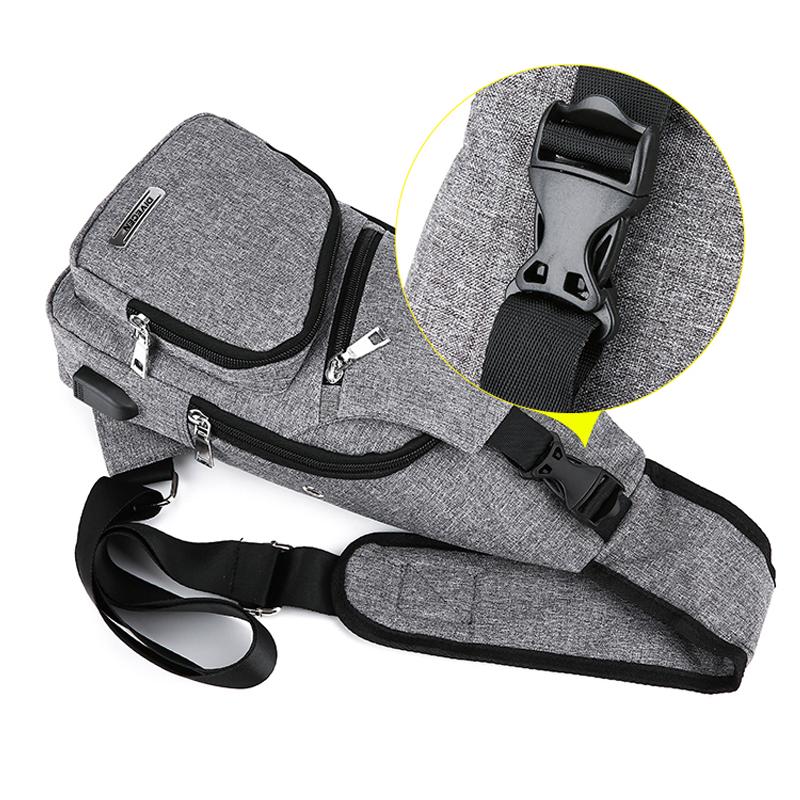 One Shoulder Leisure Messenger Backpack Chest Bag MFB06_10