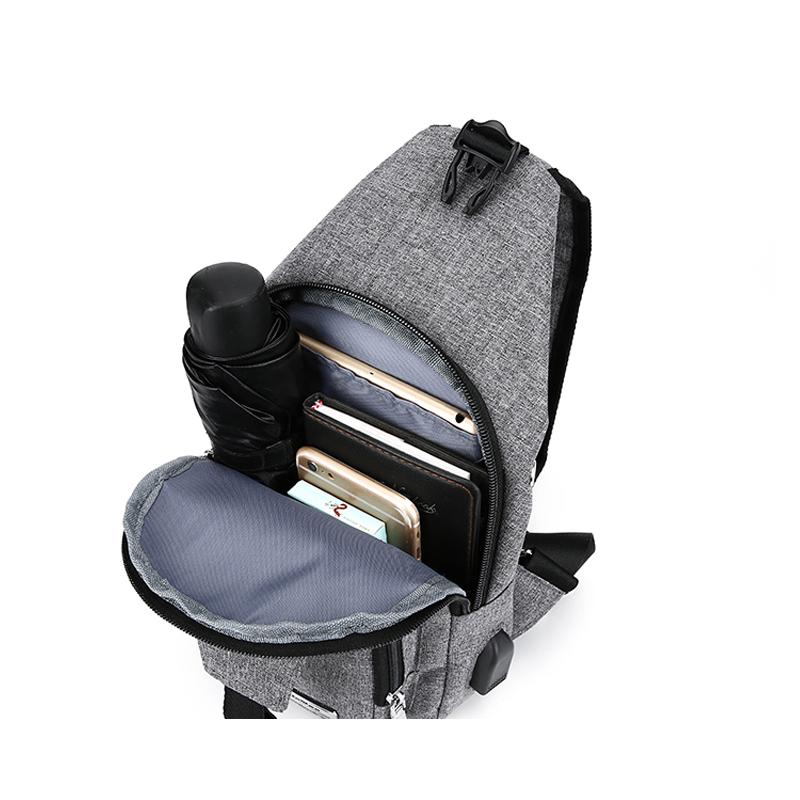 One Shoulder Leisure Messenger Backpack Chest Bag MFB06_8