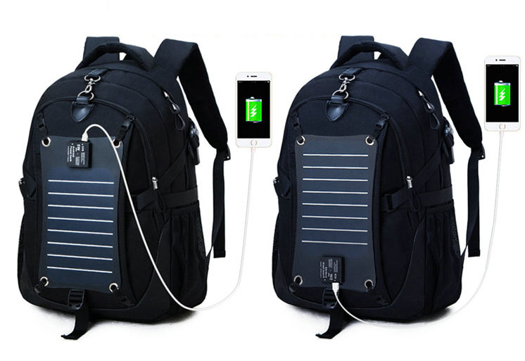 Solar Charge Backpack For Phone Business Travel Bag MFB08_12