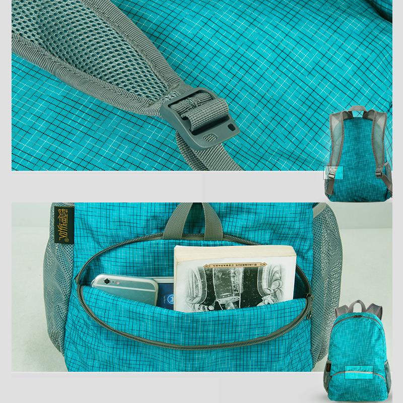 Foldable Children Travel School Shoulder Bag Backpack MFB13_12