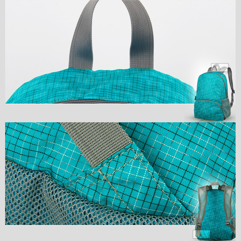 Foldable Children Travel School Shoulder Bag Backpack MFB13_9