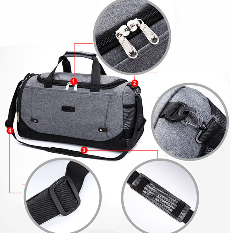 Large Capacity Luggage Waterproof Travel Boarding Bag MFB16_9