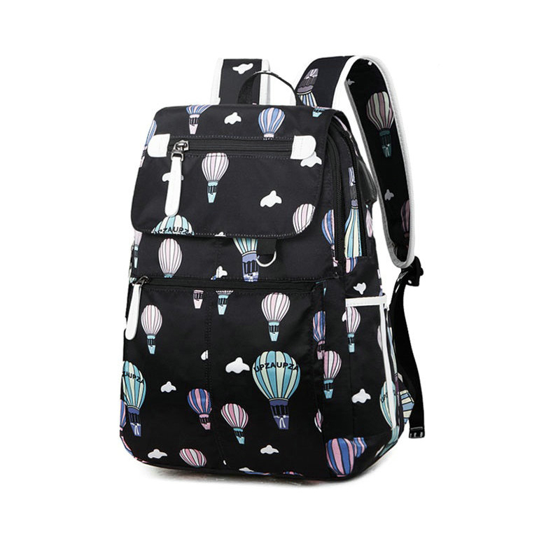 Fashion School Bag Backpack For Girl With Headset And Charging Interface MFB22_13