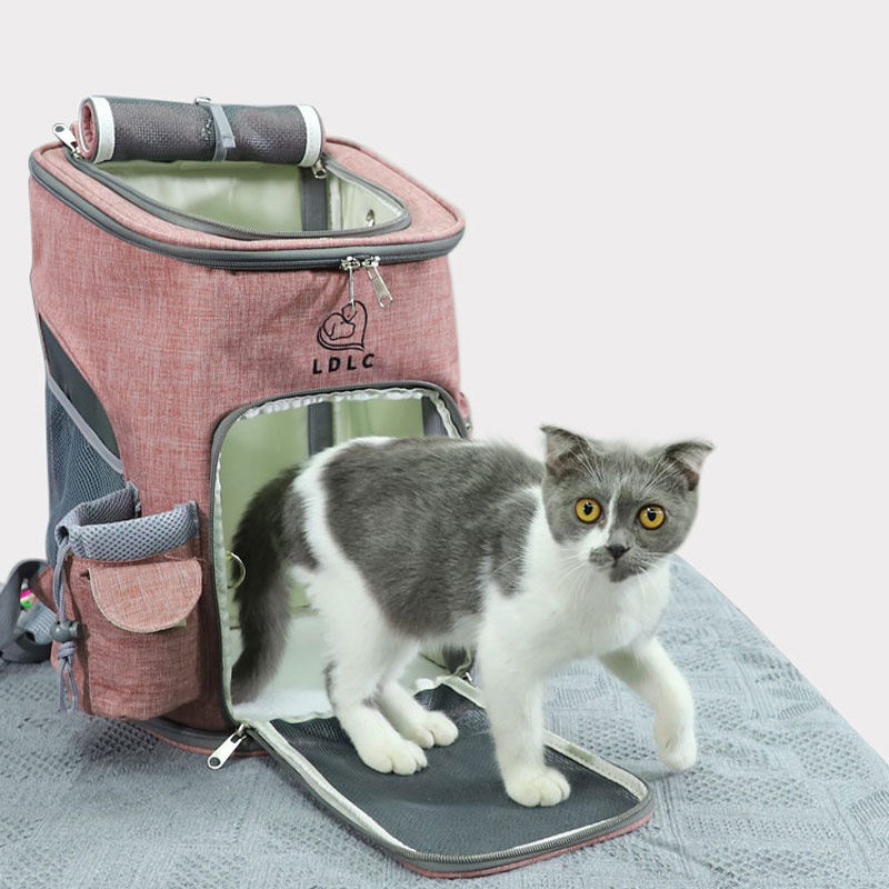 Airline Approved Backpack Pet Carrier Soft Sided Tote MFB24_9