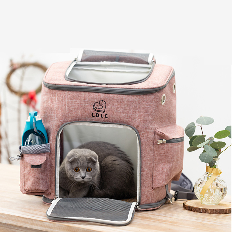 Airline Approved Plus Size Backpack Pet Carrier Soft Sided Tote MFB25_14