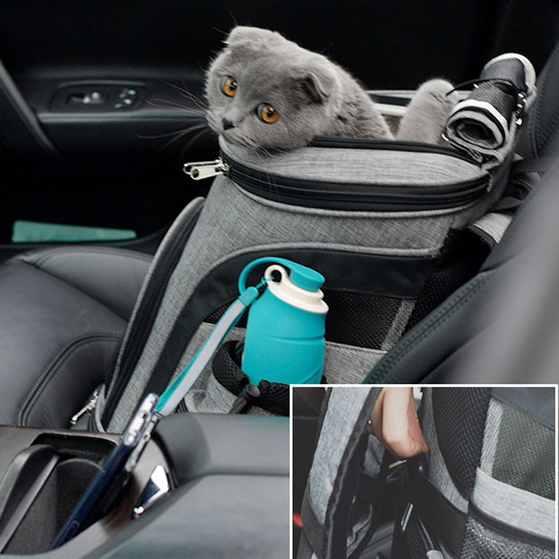 Luxury Pet Travel Backpack Carrier MFB26_12