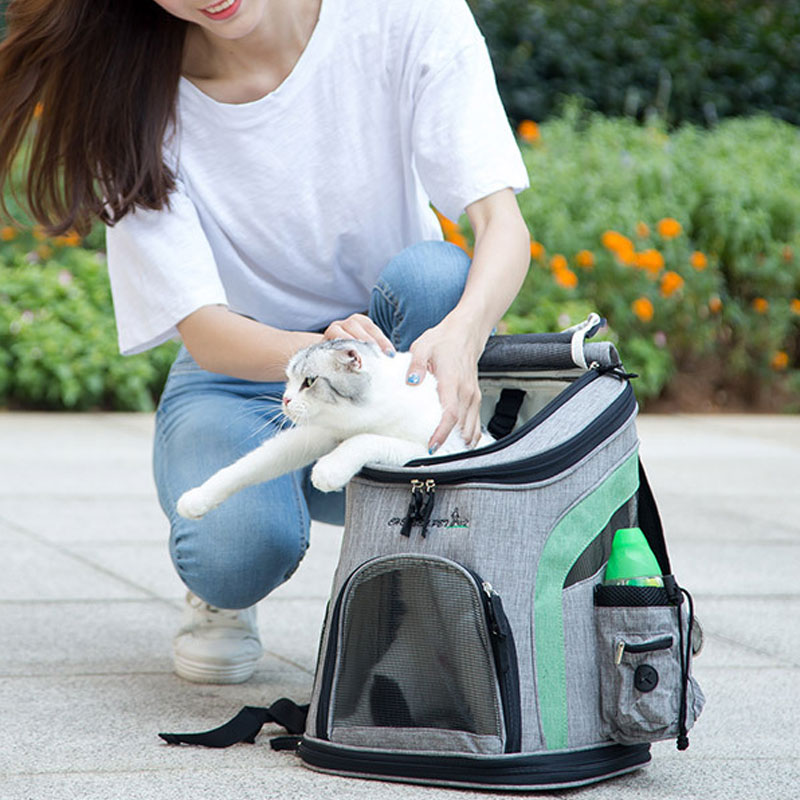 Luxury Pet Travel Backpack Carrier MFB26_14