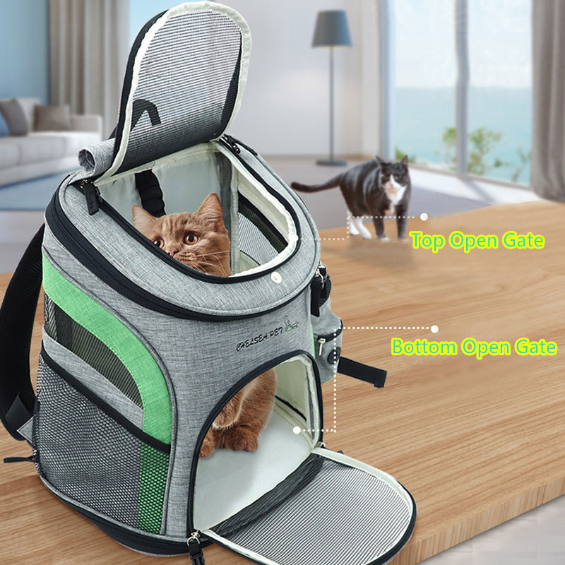 Luxury Pet Travel Plus Size Backpack Carrier MFB27_11