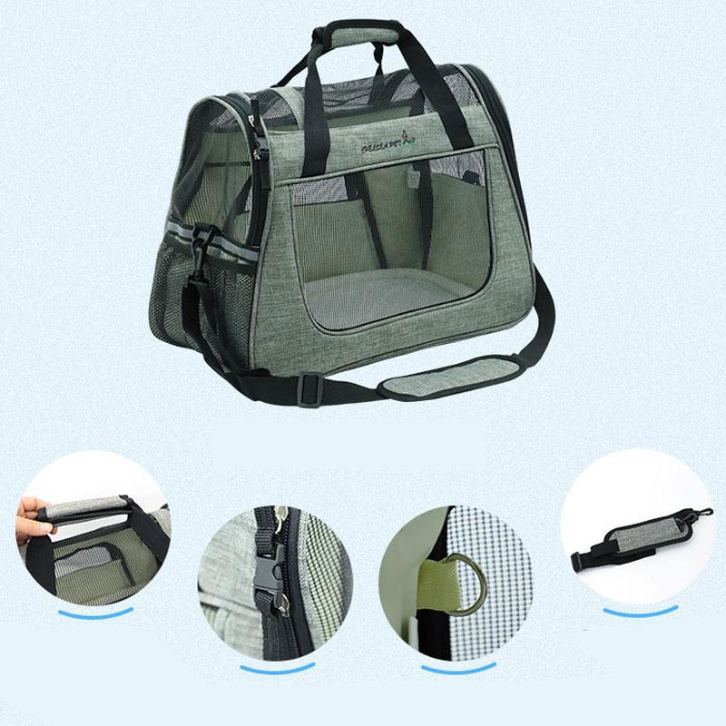 Large Side Window Pet Handbag MFB32_14