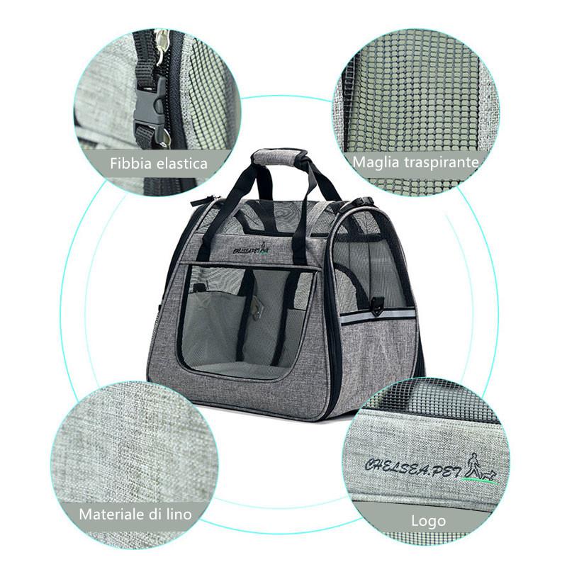 Large Side Window Pet Handbag MFB32_7