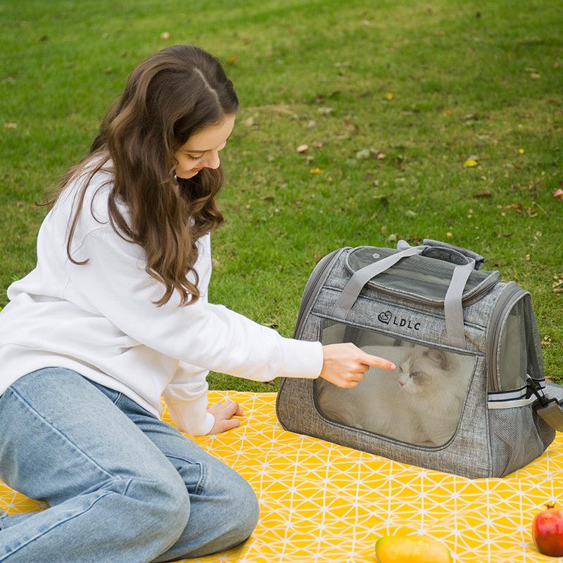 Large Side Window Pet Handbag MFB32_8