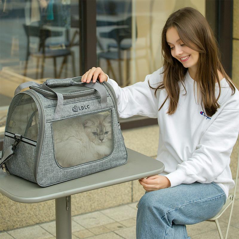 Large Side Window Pet Handbag MFB32_9