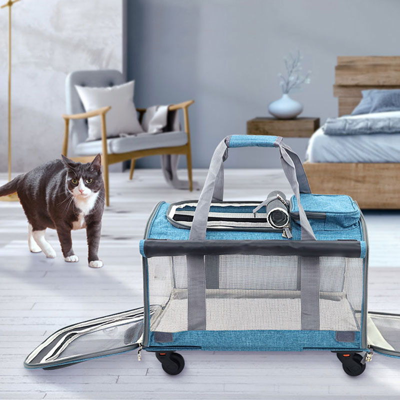 Perfect Pet Trolley Bag Rolling Carrier MFB38_10