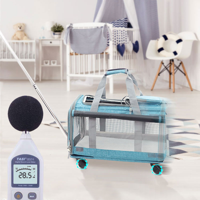 Perfect Pet Trolley Bag Rolling Carrier MFB38_11