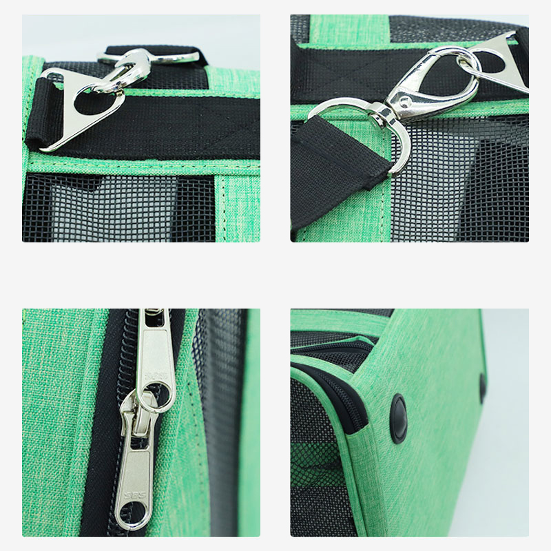 Breathable Grid Model Portable Pet Bag MFB42_12