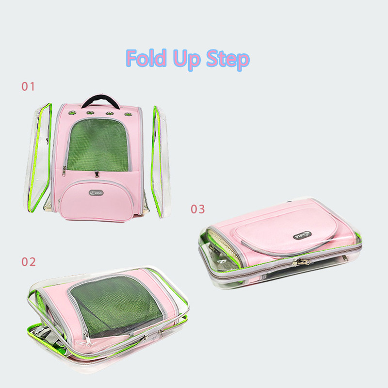Breathable Porous Pet Backpack Carrier With Front Pocket MFB44_8