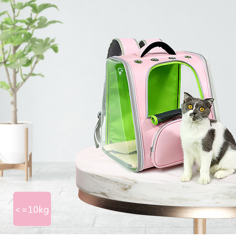 Breathable Porous Pet Backpack Carrier With Front Pocket MFB44_9