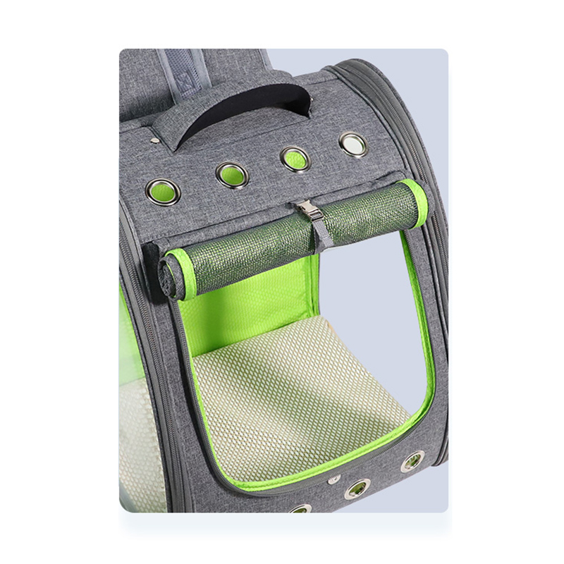 Breathable Porous Pet Backpack Carrier MFB45_11
