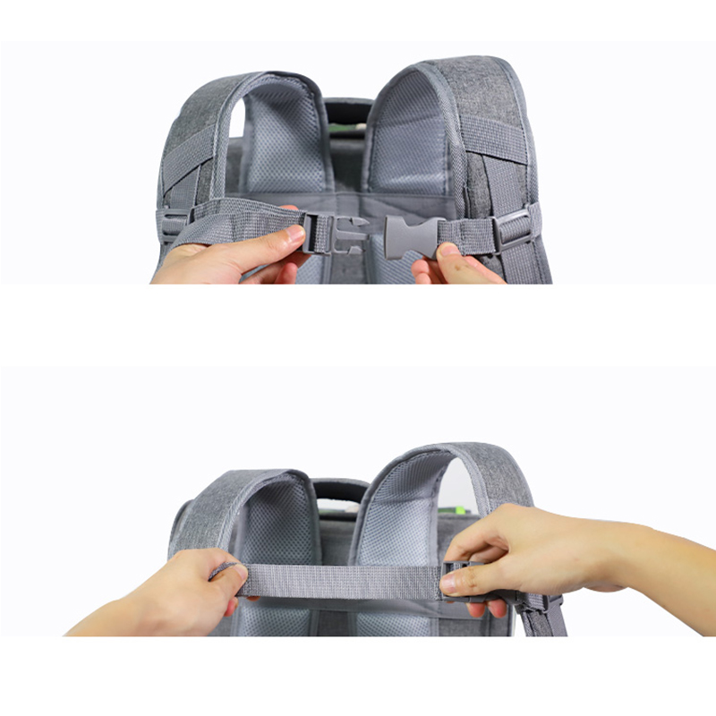 Breathable Porous Pet Backpack Carrier MFB45_12