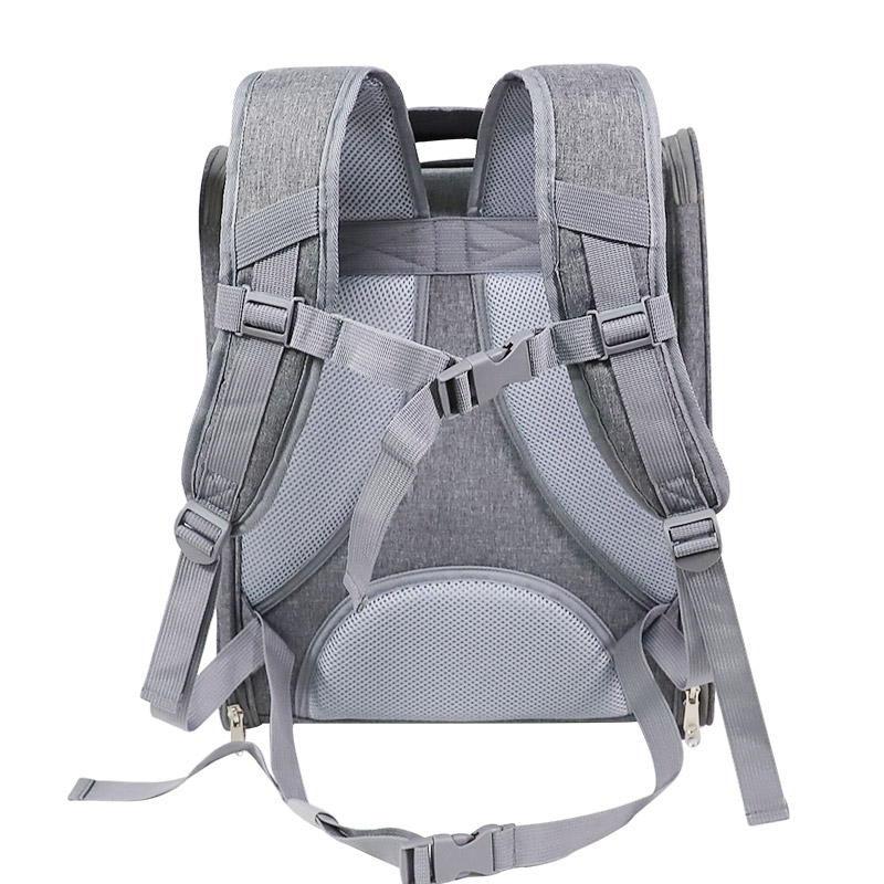 Breathable Porous Pet Backpack Carrier MFB45_9