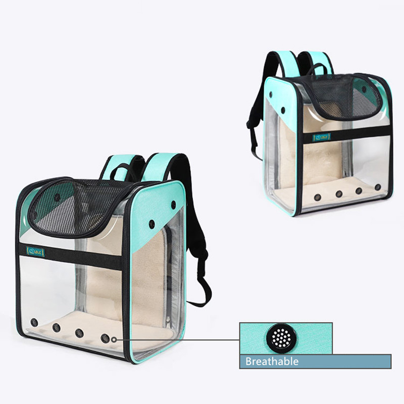 Breathable Dog Cat Backpack Pet Carrier With Extra Room MFB50_13