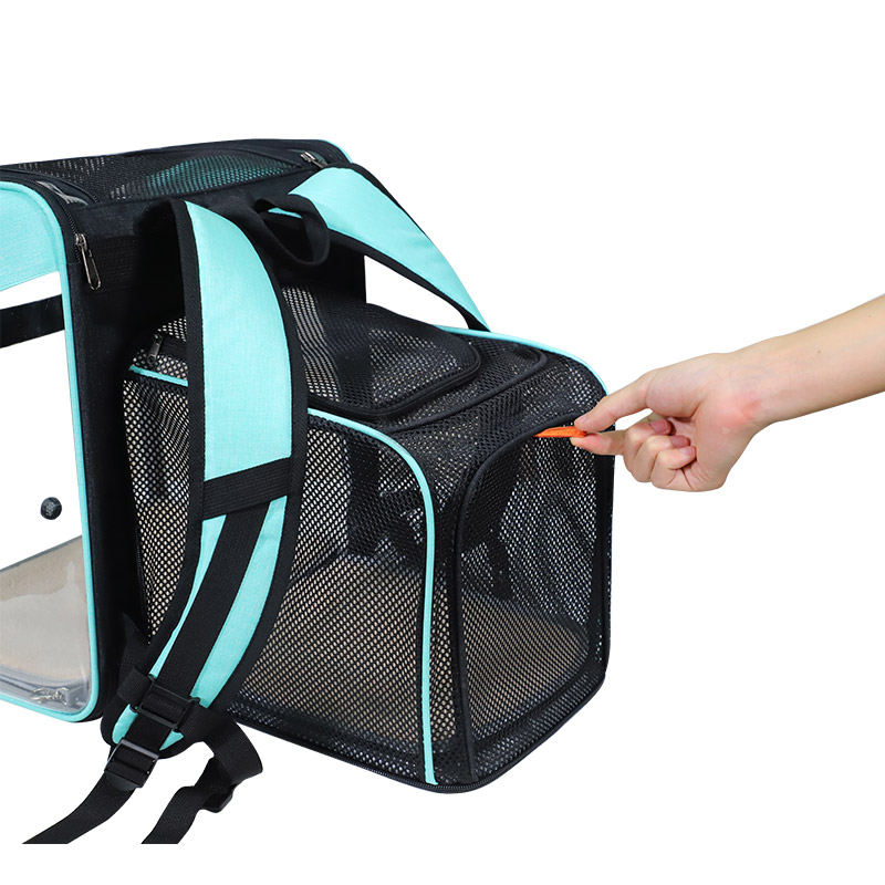 Breathable Dog Cat Backpack Pet Carrier With Extra Room MFB50_7