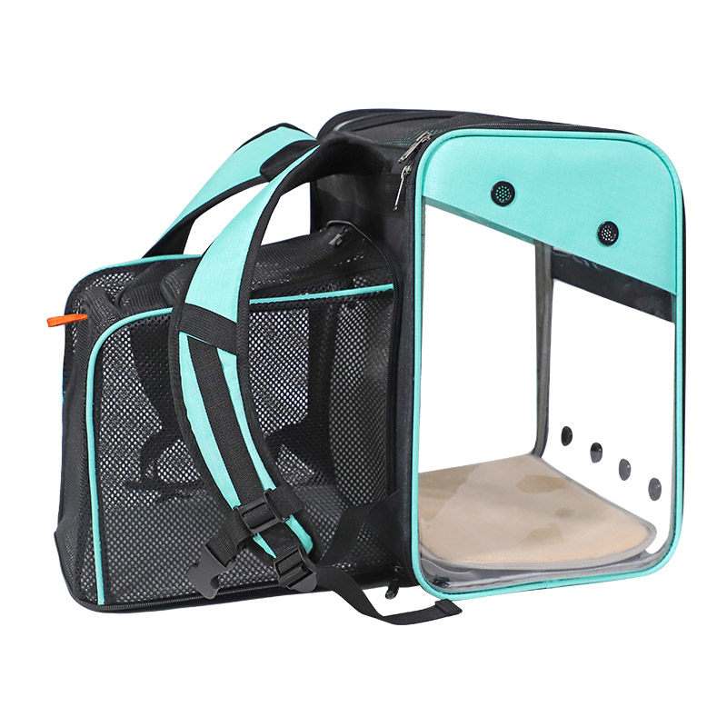 Breathable Dog Cat Backpack Pet Carrier With Extra Room MFB50_8