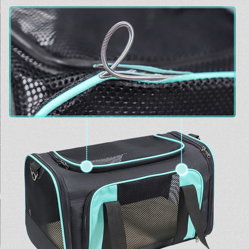 Airline Approved Soft Sided Pet Carrier With Removable Pad MFB51_6