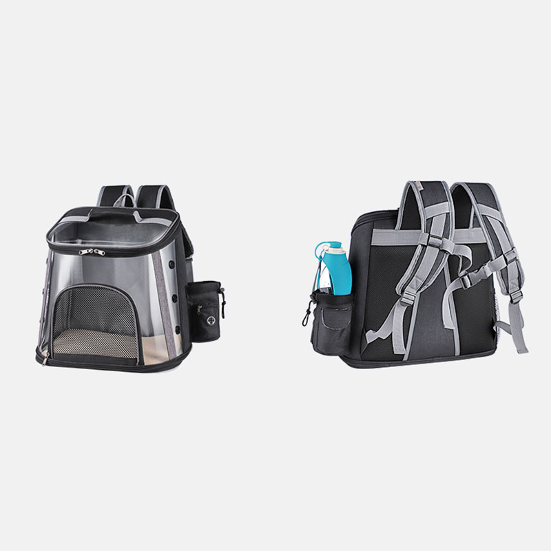 Luxury Pet Transparent Airline Approved Plus Size Backpack Carrier MFB56_11