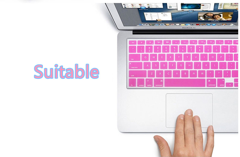 Best Colourful Keyboard Covers Cases Or Skin For Macbook Air Pro 13 15 inch MKC01_13