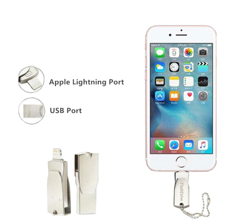 Fashionable iPhone iPad Macbook Flash Drive 8G 16G MUD01_10
